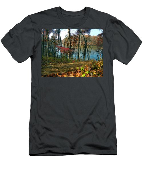 A Place To Think Men's T-Shirt (Athletic Fit)