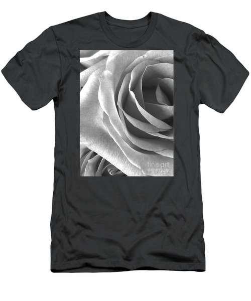 A Portrait Of Rose Men's T-Shirt (Slim Fit) by Gem S Visionary