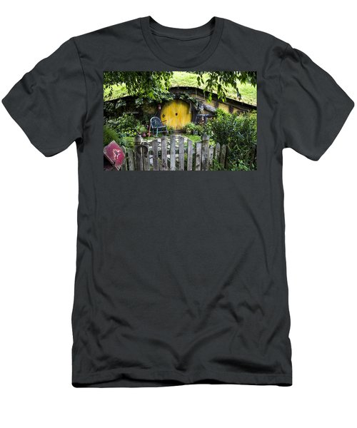 A Pretty Little Hobbit Hole Men's T-Shirt (Athletic Fit)