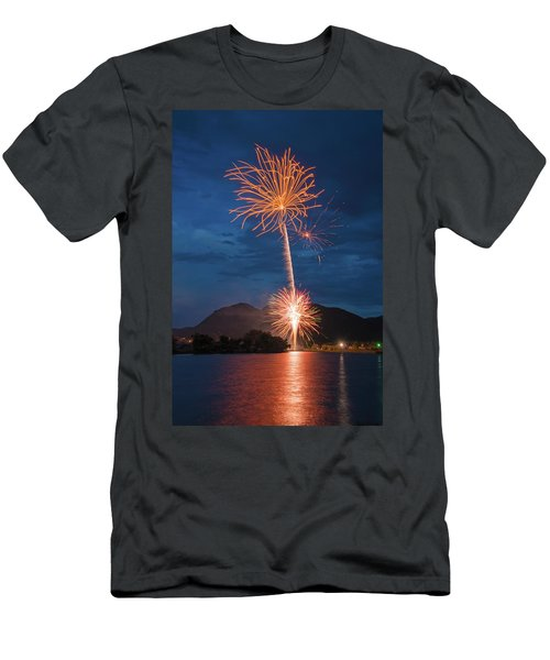 A Prodigious Fulmination In Palmer Lake, Colorado  Men's T-Shirt (Athletic Fit)