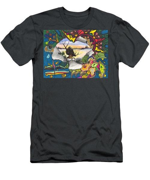 A Punch Through Men's T-Shirt (Athletic Fit)