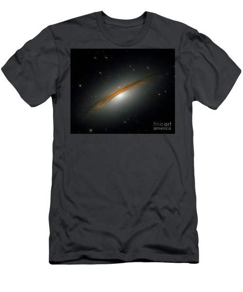 Men's T-Shirt (Slim Fit) featuring the photograph Fastest Spinning Galaxy by Nicholas Burningham