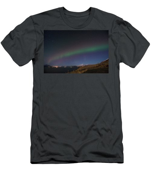 A Ribbon Of Northern Lights Men's T-Shirt (Athletic Fit)