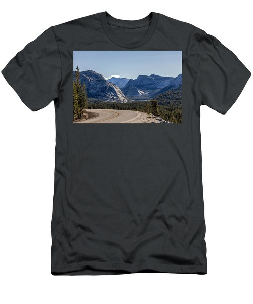 Men's T-Shirt (Slim Fit) featuring the photograph A Road To Follow by Everet Regal