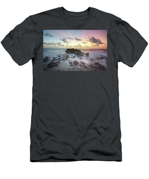 A Rocky Sunrise. Men's T-Shirt (Athletic Fit)
