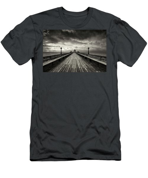 A Romantic Walk To The Past Men's T-Shirt (Slim Fit) by Dominique Dubied