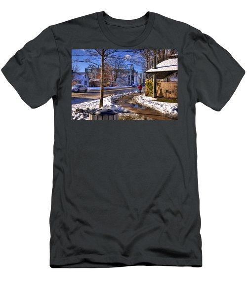 A Sandpoint Winter Men's T-Shirt (Athletic Fit)
