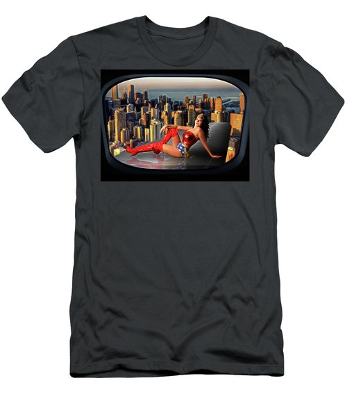 A Seat With A View Men's T-Shirt (Athletic Fit)