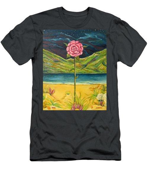 A Secret Romance Men's T-Shirt (Slim Fit) by John Keaton