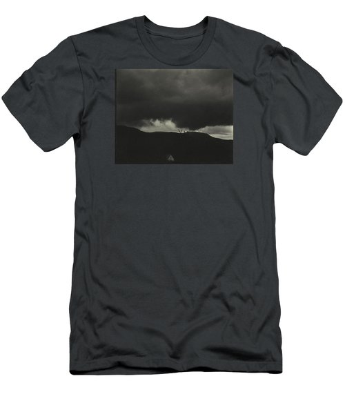 A Sequence Of Ten Cloud Photographs Men's T-Shirt (Athletic Fit)