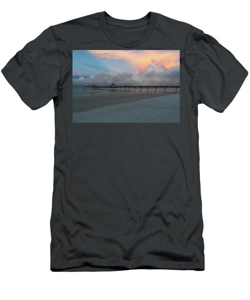 Men's T-Shirt (Athletic Fit) featuring the photograph A Serene Morning by Kim Hojnacki