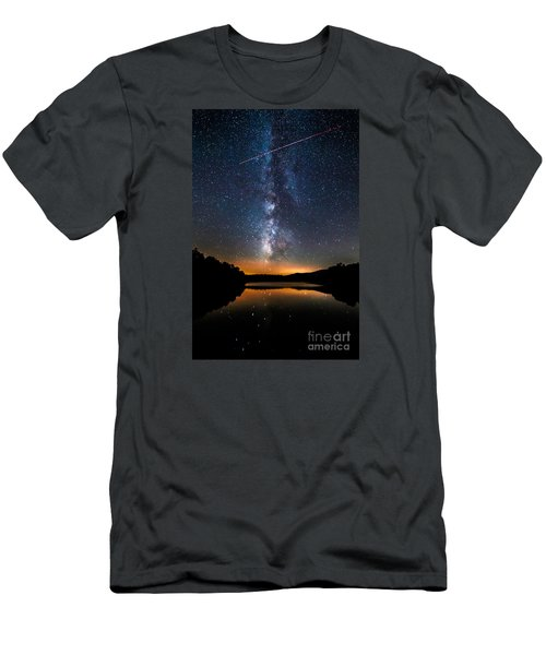 A Shooting Star Men's T-Shirt (Athletic Fit)