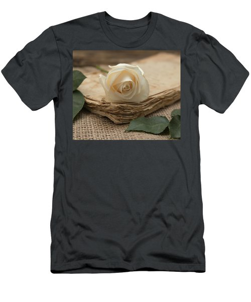 Men's T-Shirt (Athletic Fit) featuring the photograph A Simple Time by Kim Hojnacki