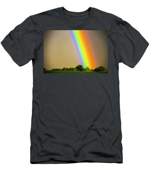 A Spectrum Of Nebraska 002 Men's T-Shirt (Athletic Fit)