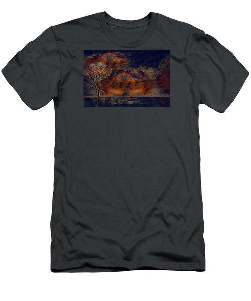 A Splash Of Serene Men's T-Shirt (Athletic Fit)