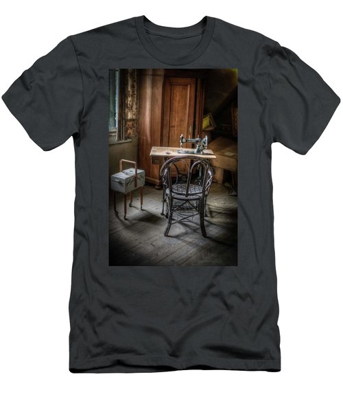 A Stitch In Time Men's T-Shirt (Slim Fit) by Nathan Wright