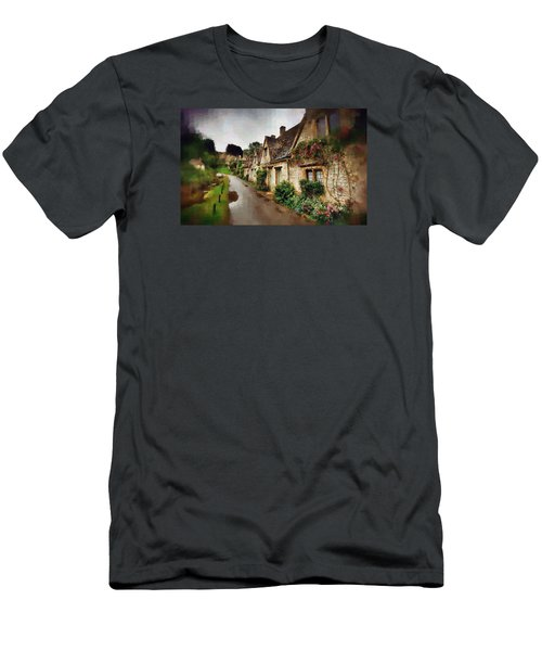 Men's T-Shirt (Slim Fit) featuring the photograph A Stroll Down Memory Lane by Mario Carini