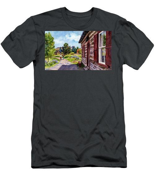 A Stroll Through Time Men's T-Shirt (Athletic Fit)