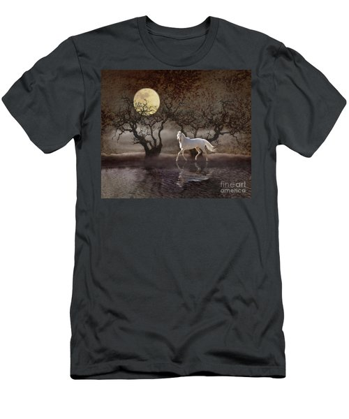 Men's T-Shirt (Athletic Fit) featuring the photograph A Summer Night's Dream by Melinda Hughes-Berland