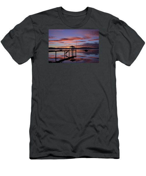 Men's T-Shirt (Slim Fit) featuring the photograph A Sunrise To Wake The Dead  by Sean Sarsfield