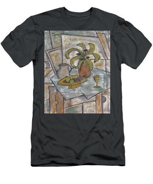 A Toast To Tranquility Men's T-Shirt (Slim Fit) by Trish Toro