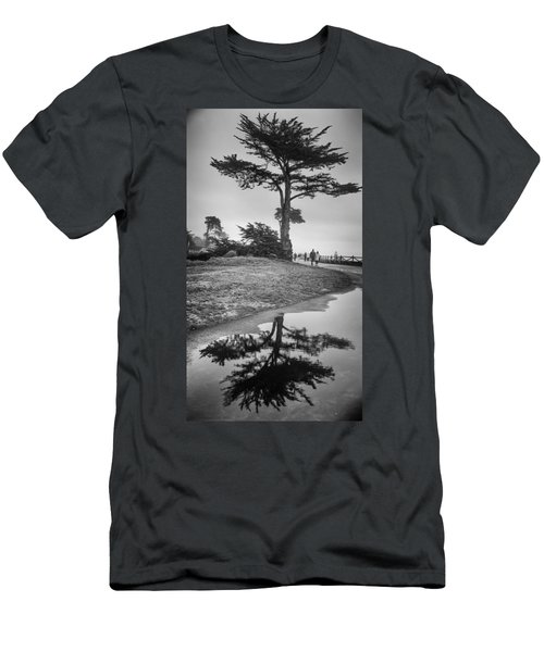 A Tree Stands Tall Men's T-Shirt (Athletic Fit)