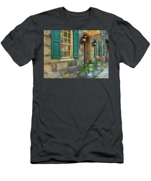 A Victorian Tea Room Men's T-Shirt (Athletic Fit)