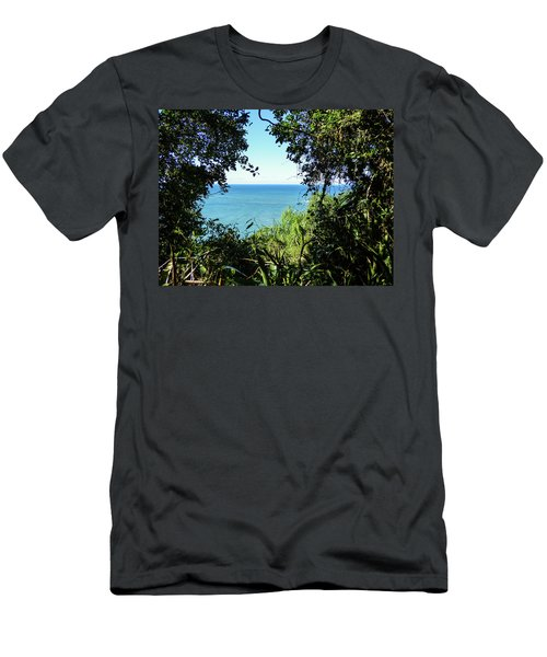 A View Of The Atlantic Ocean Men's T-Shirt (Athletic Fit)