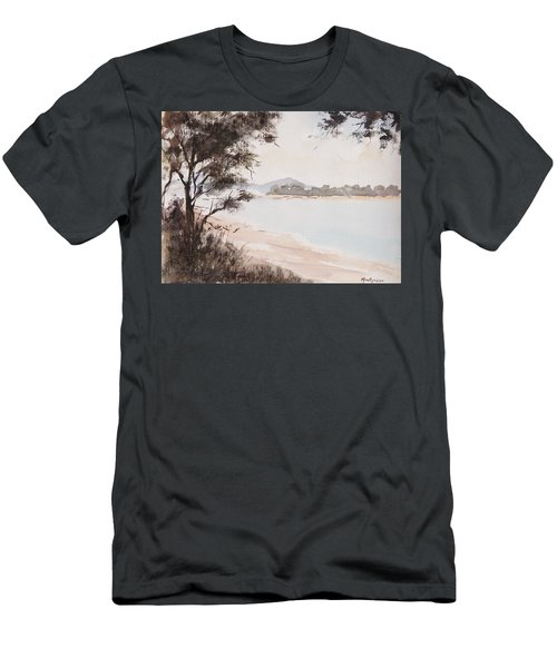 A Walk Along The Riverside Men's T-Shirt (Athletic Fit)