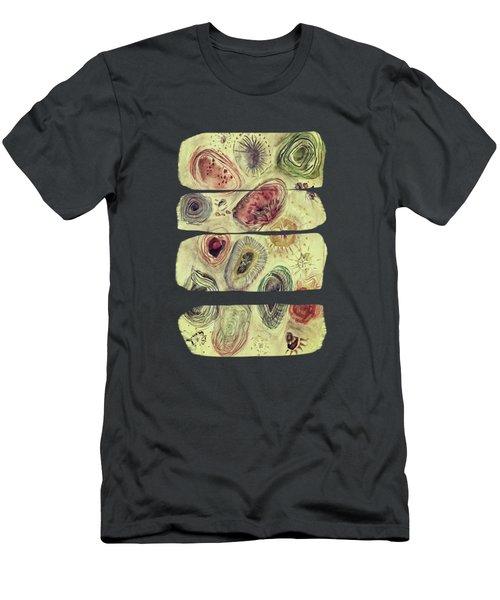 A Walk At The Beach Men's T-Shirt (Slim Fit) by AugenWerk Susann Serfezi