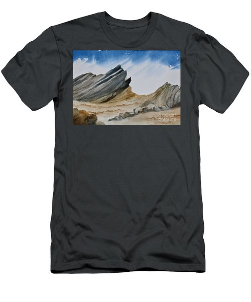 A Walk In The Desert Men's T-Shirt (Athletic Fit)