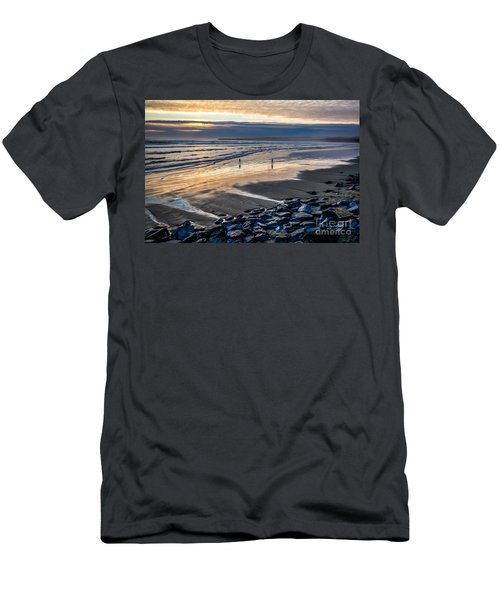 A Walk In The Evening Men's T-Shirt (Athletic Fit)