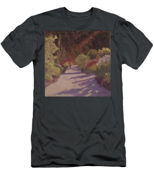 A Walk  On A  Sonoran Desert Road Men's T-Shirt (Athletic Fit)