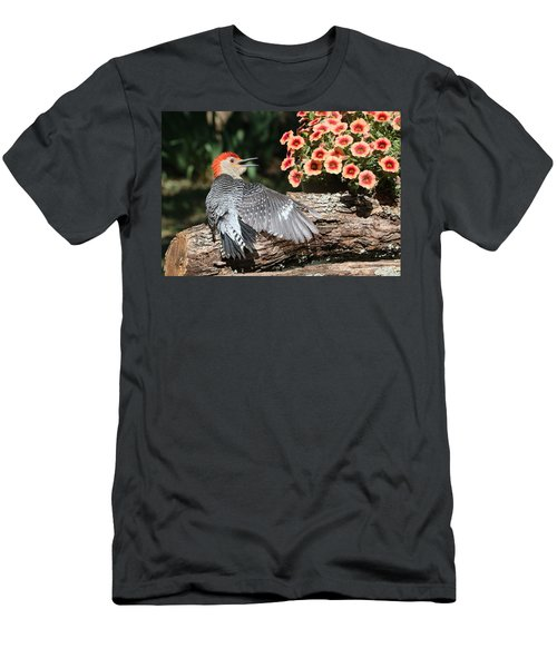 A Woodpecker Conversation Men's T-Shirt (Athletic Fit)