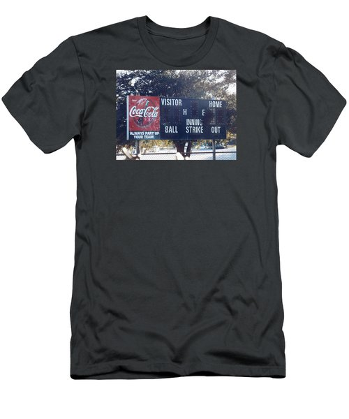 Abandoned Score Board Men's T-Shirt (Athletic Fit)