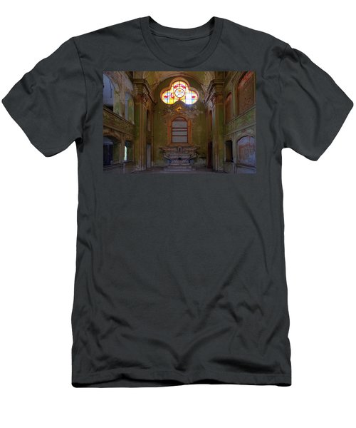 Abandoned Chapel Of An Important Liguria Family I - Cappella Abbandonata Di Famiglia Ligure 1 Men's T-Shirt (Athletic Fit)