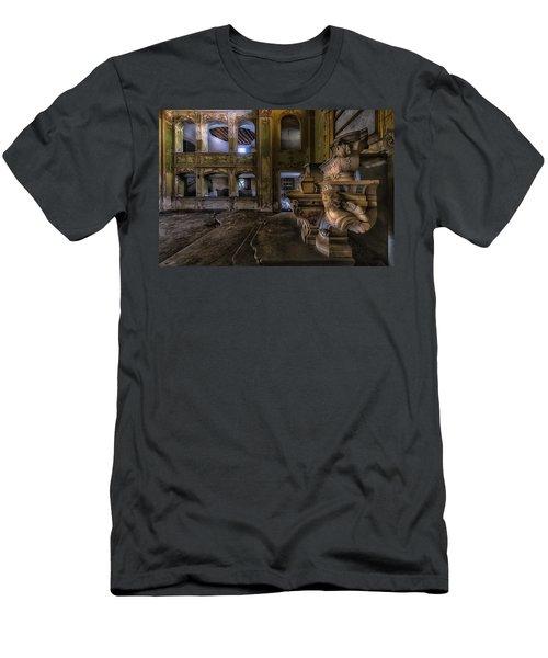 Abandoned Chapel Of An Important Liguria Family II - Cappella Abbandonata Di Famiglia Ligure 2 Men's T-Shirt (Athletic Fit)