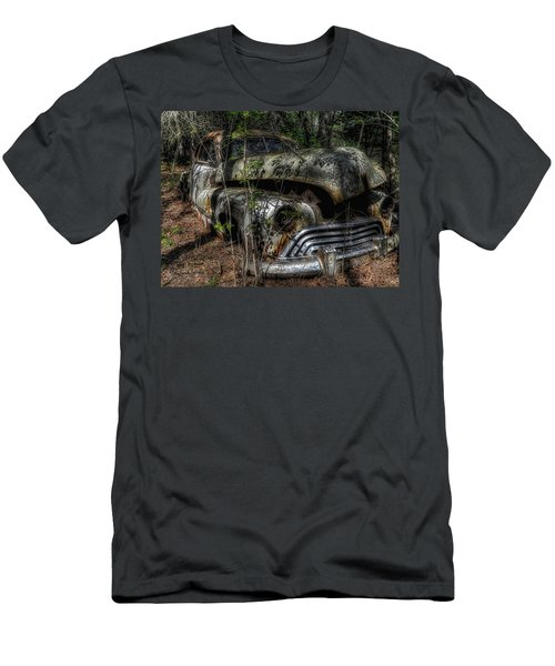 Men's T-Shirt (Slim Fit) featuring the photograph Abandoned In Helvetia by Trey Foerster