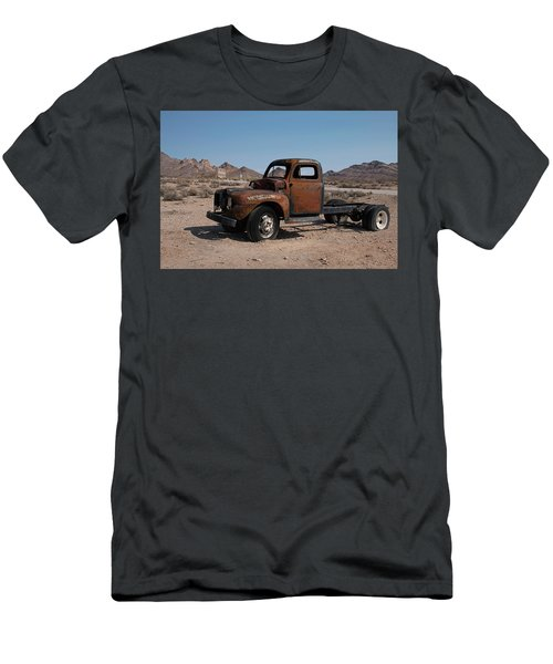 Men's T-Shirt (Athletic Fit) featuring the photograph Abandoned In Rhyolite by Kristia Adams