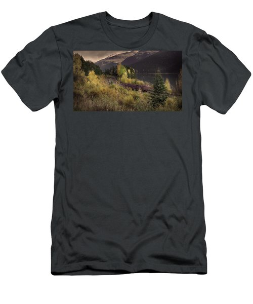 Men's T-Shirt (Slim Fit) featuring the photograph Abandoned  by John Poon