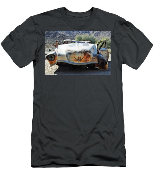 Men's T-Shirt (Slim Fit) featuring the photograph Abandoned Mojave Auto by Kyle Hanson