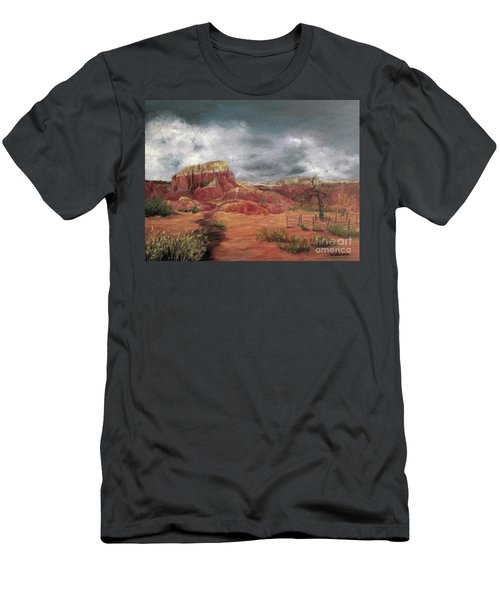 Abandoned  Ranch Men's T-Shirt (Athletic Fit)