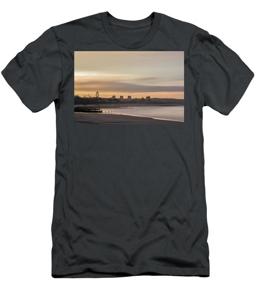 Aberdeen Beach At Sunset Men's T-Shirt (Athletic Fit)