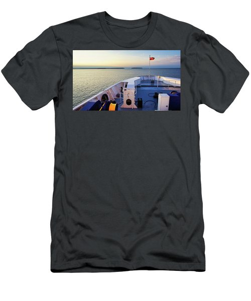 Aboard The Chi-cheemaun Men's T-Shirt (Athletic Fit)