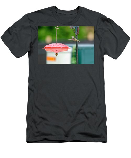 About To Land Men's T-Shirt (Athletic Fit)