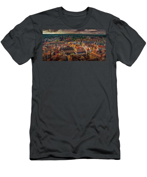 Above Strasbourg Men's T-Shirt (Athletic Fit)