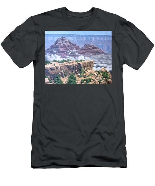 Above The Clouds Grand Canyon Men's T-Shirt (Slim Fit) by Jim Thomas