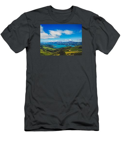 Above To Below Men's T-Shirt (Athletic Fit)
