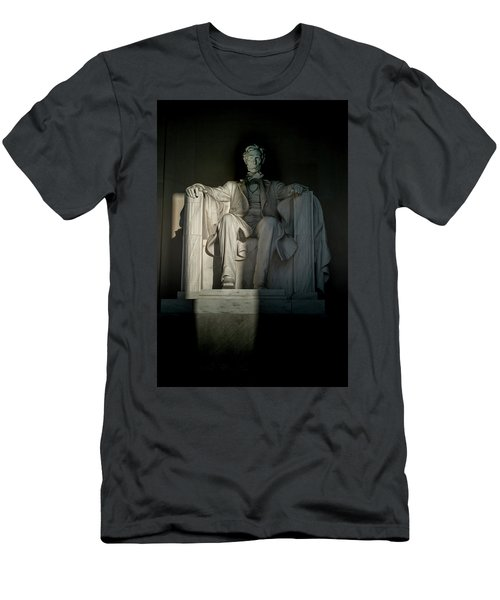 Abraham Lincoln And The Current State Of Affairs Men's T-Shirt (Athletic Fit)
