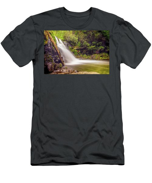Abrams Falls Men's T-Shirt (Slim Fit) by David Cote